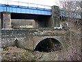 NZ1863 : Bridges over the lower Blaydon Burn by Andrew Curtis