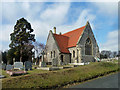 TQ7209 : Chapel, Bexhill Cemetery by Robin Webster