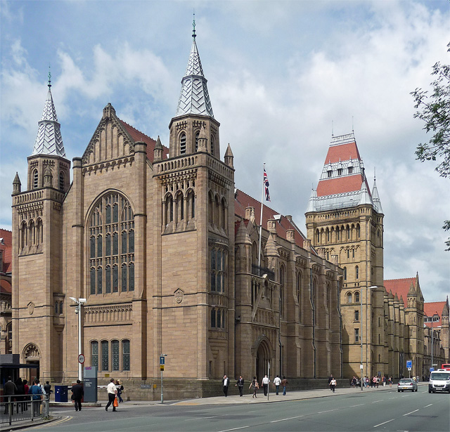 Whitworth Hall, Oxford Road, Manchester