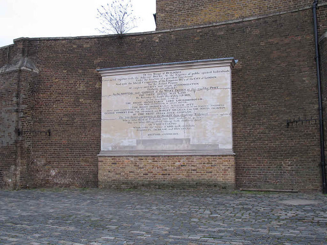 Foundation stone of the Lister Building
