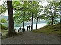 NY2619 : Taking in the scenery at Surprise View by Rose and Trev Clough