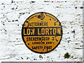 NY1525 : AA village sign, Low Lorton by Rose and Trev Clough