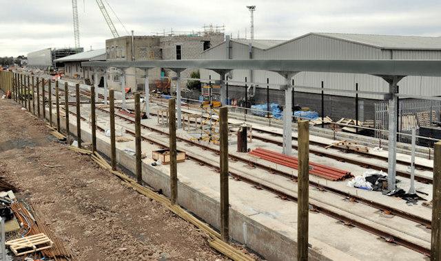 New train maintenance depot, Belfast (35)