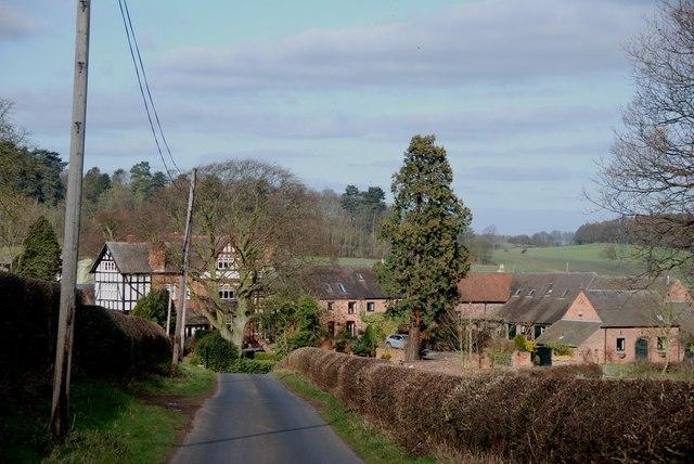 Great Bangley Farm on the Heart of England Way