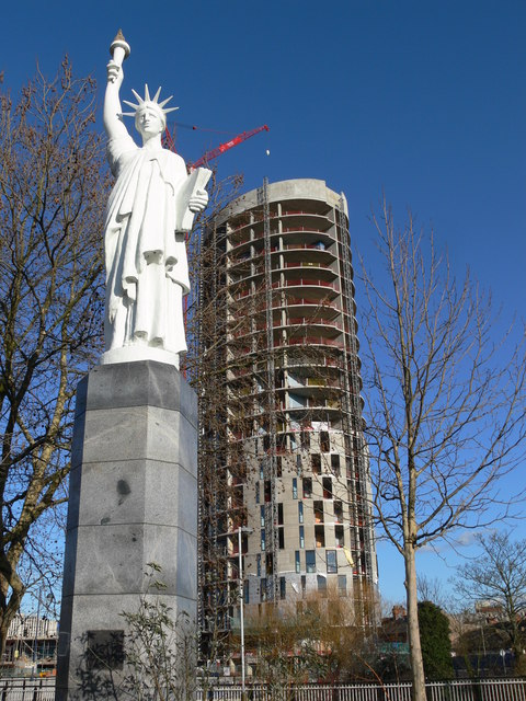 Leicester's Statue of Liberty © Mat Fascione :: Geograph ...