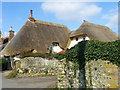 SU2140 : Thatched cottage, Newton Tony by Maigheach-gheal