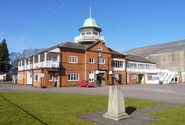 Club House at Brooklands