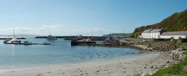 Rathlin Harbour, Church Bay, Rathlin Island