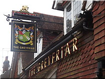 SU7037 : The Greyfriar, Chawton by Colin Smith