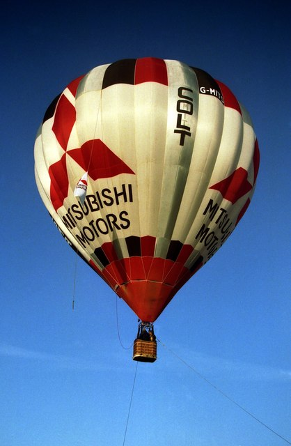 Hot Air Balloon at Cheltenham Racecourse