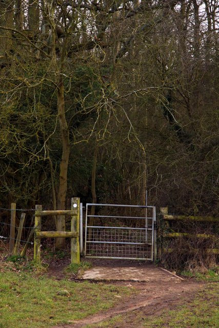 Gate to Hen Wood
