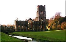 SE2768 : Fountains Abbey by Yvonne Wakefield