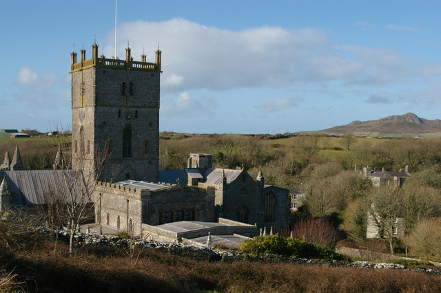 St David's Cathedral from the east