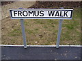 TM3862 : Fromus Walk sign by Adrian Cable