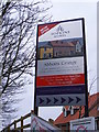 TM3863 : Abbotts Grange Sale Board by Adrian Cable