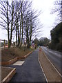 TM3862 : New Path & the B1119 Church Hill, Saxmundham by Adrian Cable