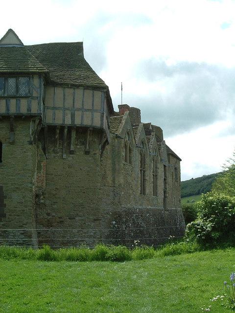 Stokesay Castle - western range