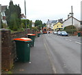 ST3090 : Orange-lidded wheelie bin day, Pillmawr Road, Malpas, Newport by Jaggery
