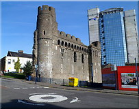 SS6593 : Swansea Castle by Jaggery