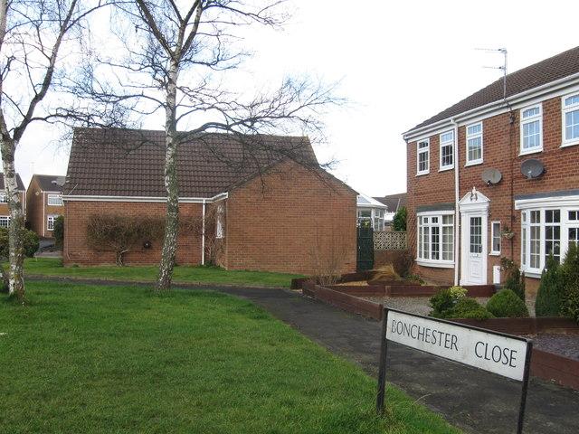 Bonchester Close, Bedlington