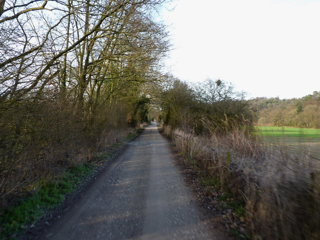 NCN 45 near Severn Hall