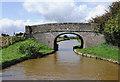 SJ6257 : Sandholes Bridge north-east of Barbridge, Cheshire by Roger  Kidd