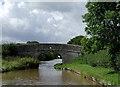 SJ6257 : Benyon's Bridge east of Barbridge Junction, Cheshire by Roger  Kidd