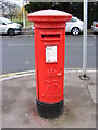 TQ4583 : St.John Road George V Postbox by Adrian Cable