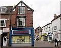 SO9570 : Bromsgrove High Street  Bromsgrove Business Centre Ltd & F Hinds by Roy Hughes