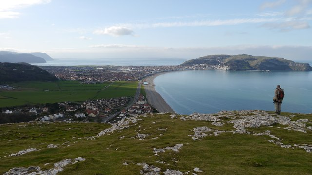 Little Orme view of Great Orme and Llandudno