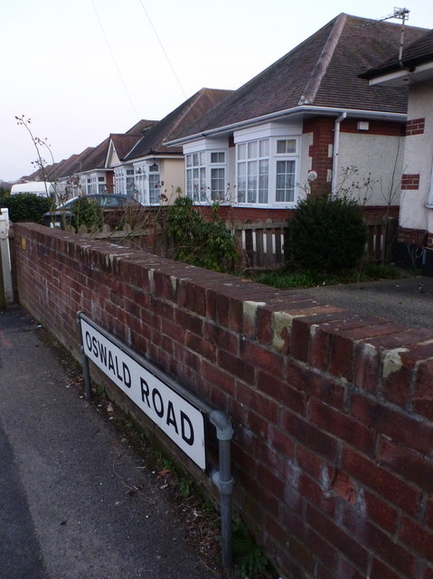 Winton: Oswald Road on St. Oswald's Day