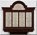 TQ2573 : St Michael & All Angels, Granville Road, Southfields - War Memorial WWI by John Salmon