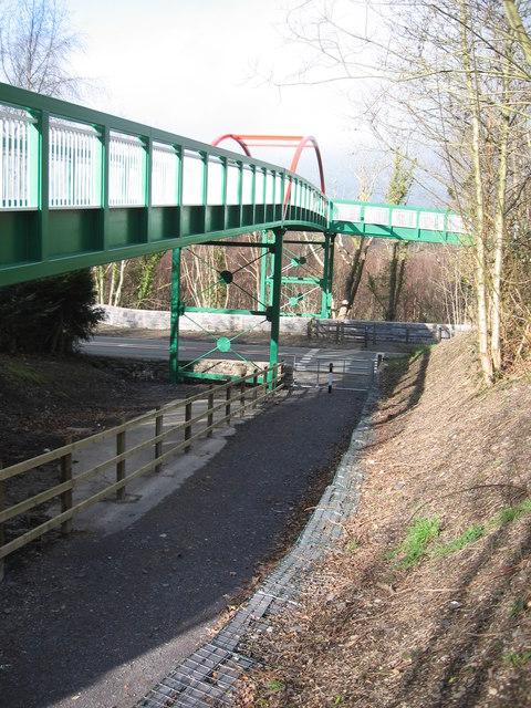Bridge over A4244