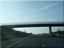 SK1300 : M6 Toll passes under Weeford Park Farm access road by Colin Pyle