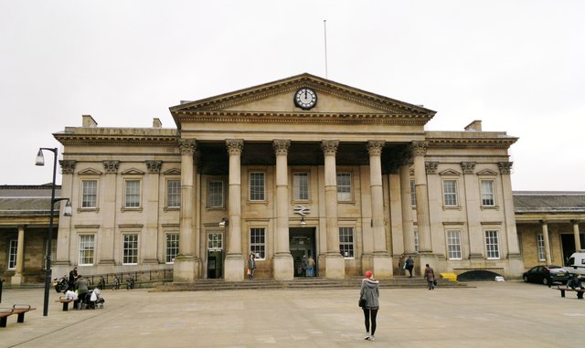 Huddersfield Railway Station in St George's Square