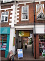 SO9670 : Bromsgrove High Street  Entrance to Langtry's Coffee House Restaurant by Roy Hughes