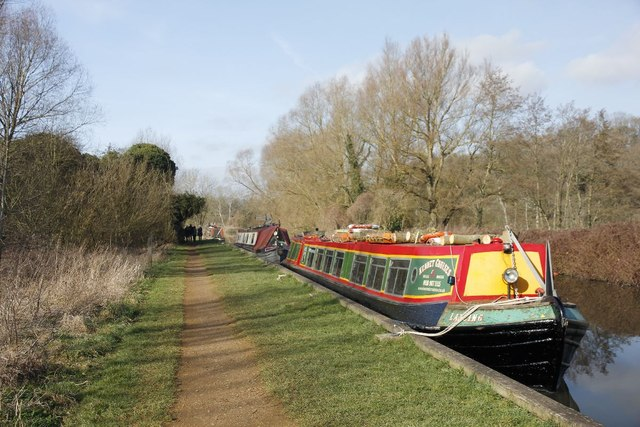 First of the narrowboats
