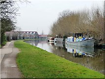 TQ2282 : Nelly moored on the Paddington Branch by Christine Johnstone