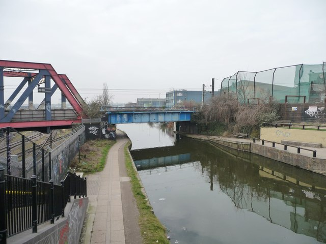 The Paddington Branch of the Grand Union Canal