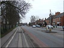 SK8152 : London Road towards Balderton by JThomas