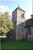 TR0650 : Tower of Godmersham Church by Julian P Guffogg