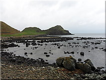 C9444 : Giants Causeway: Port Granny and The Great Stookan by Anthony Foster