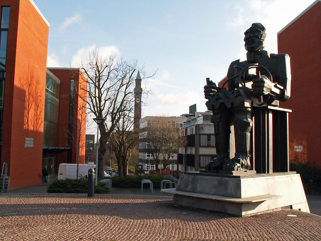 Sculpture at Birmingham University