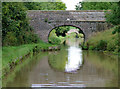 SJ6659 : Hoolgrave Bridge near Church Minshull, Cheshire by Roger  Kidd