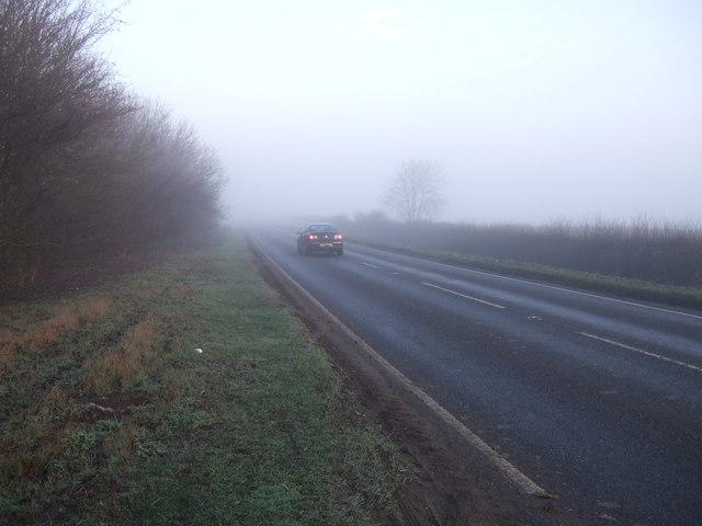A15 towards Lincoln