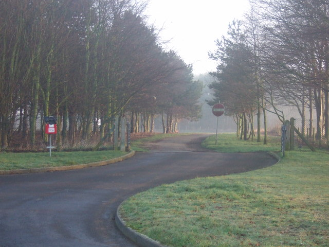 Restricted road, RAF Cranwell