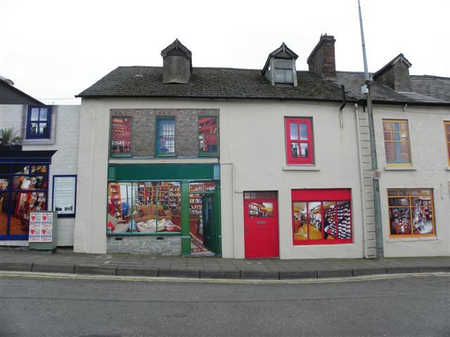 Derelict shops, Dungannon
