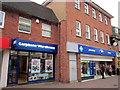 SO9570 : Bromsgrove High Street  Carphone Warehouse & Boots by Roy Hughes