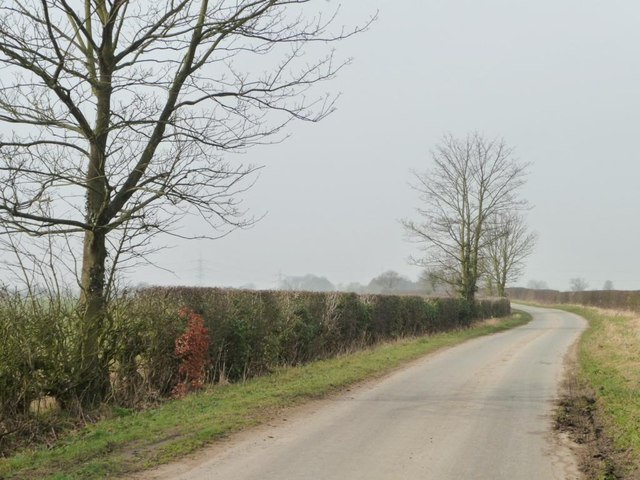 The road to Claxton
