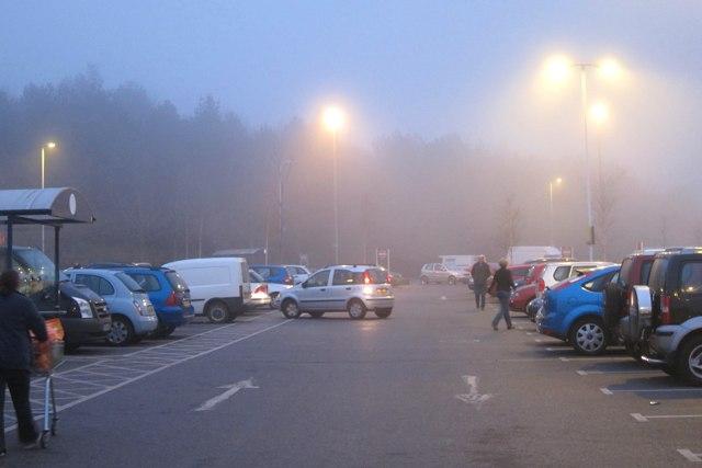 Sainsbury's car park
